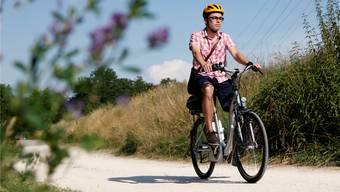 Der Frühling lässt sich wunderbar auf einem E-Bike geniessen.
