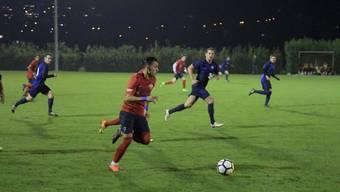 Patric Teixeira vom FC Birmensdorf sorgte gegen Siebnen auf der rechten Seite für schnelle Vorstösse, blieb aber wie alle Birmensdorfer glücklos.