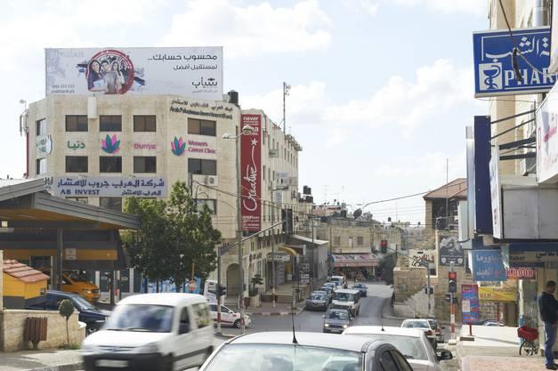 Die Dunya-Clinic mitten in Ramallah