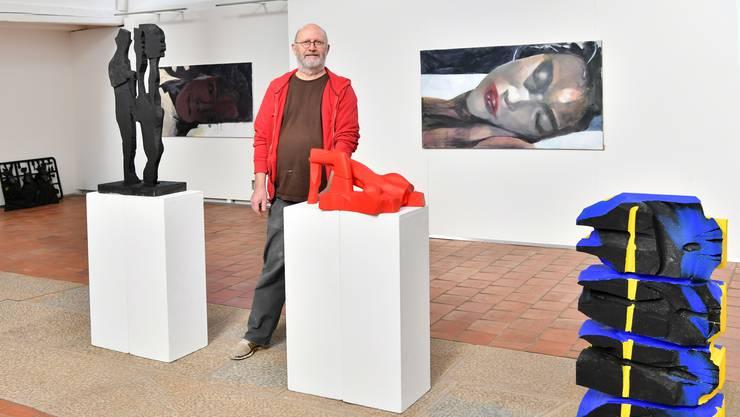 Markus Wyss stellt in der Alten Kirche seine neusten Werke aus.