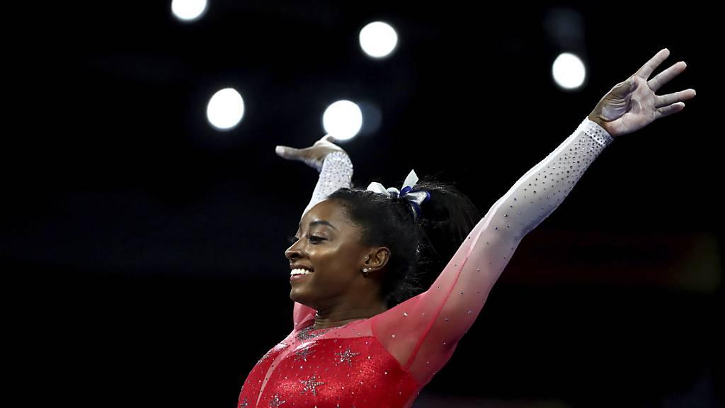Olympia-Teilnahme von Biles nach Verschiebung nicht sicher