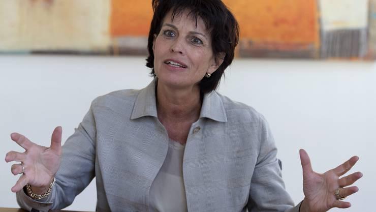 Medienministerin Doris Leuthard. (Archivbild)