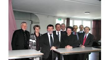 Peter Gomm (SP), Birgit Wyss (Grüne), Roland Heim (CVP), Roland Fürst (FDP), Albert Studer (SVP), Esther Gassler (FDP), Hugo Ruf (unabhängig), Remo Ankli (FDP) und Andreas Bühlmann (SP) präsentierten sich den Grauen Panthern.