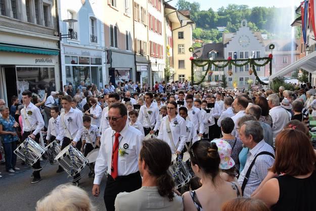 Der Rutenzug gehört zu den wichtigsten Anlässen in Brugg