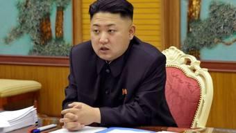 Der nordkoreanische Diktator Kim Jong-Un