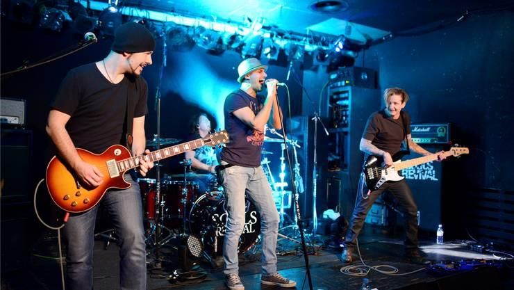 Nach dem Bühnenhighlight in der Kofmehl-Raumbar hoffen die Musiker von Souls Revival auf eine Chartsplatzierung.