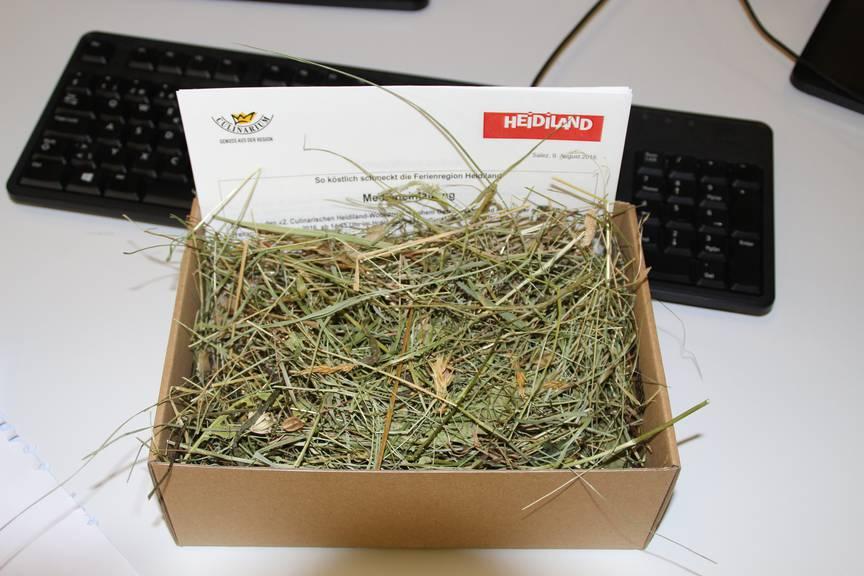 Gras aus der Heililand Region.