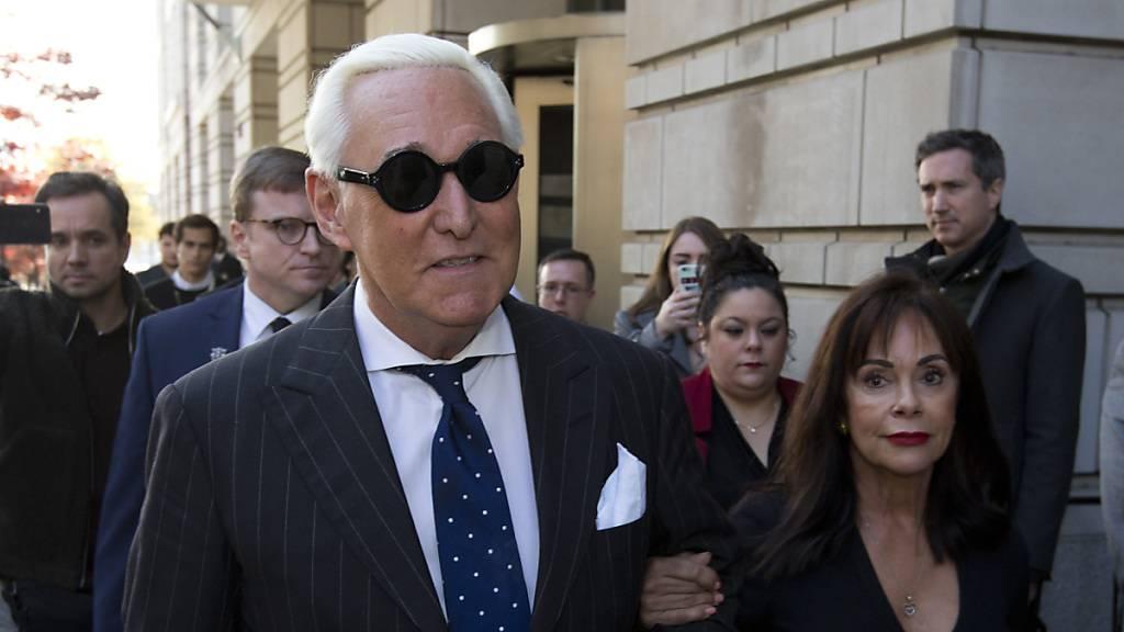 Staatsanwalt will bis zu neun Jahre Haft für Trump-Vertrauten Stone