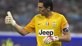 Juventus zählt weiterhin auf Gianluigi Buffons Dienste.