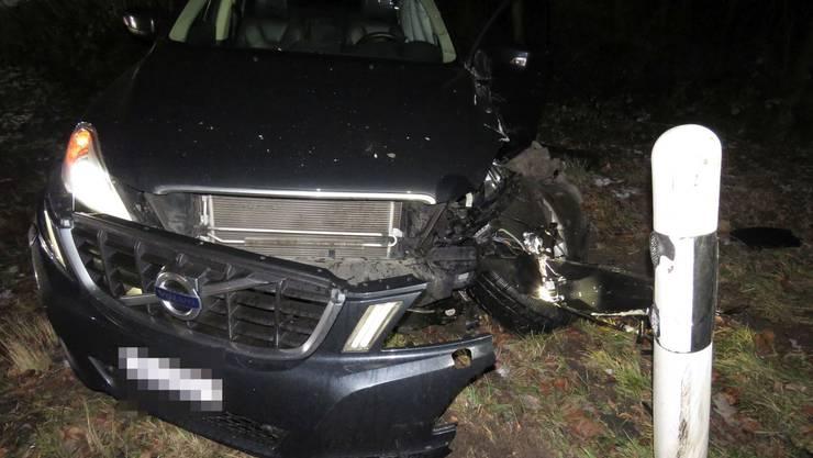 Der in den Unfall involvierte Volvo.