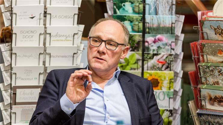 Ständeratskandidat Hansjörg Knecht (SVP) will nichts über 10'000 Franken annehmen.