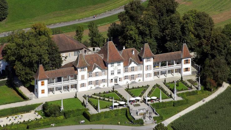 Paradiesisch: Schloss Waldegg liegt auf Gemeindegeiet des Steuerparadies' Feldbrunnen-St.Niklaus.