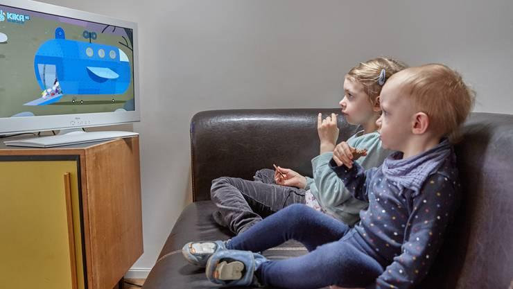 Damit es den Kleinsten zu Hause nicht langweilig wird, schaltet UPC alle Kinderkanäle frei. (Symbolbild)