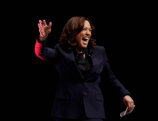 Zukünftige Präsidentschaftskaniddatin? Kritiker befüchten, Harris werde ihr Amt primär dazu nutzen, sich selber für die kommenden Wahlen 2024 in Stellung zu bringen.