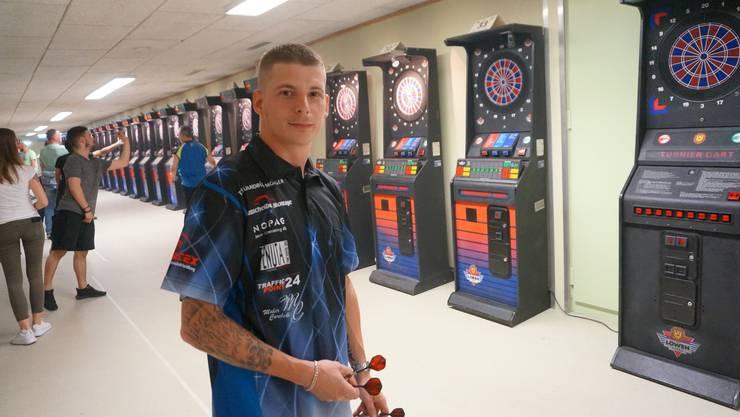 Andy Bless aus Winterthur trainierte regelmässig in Dietikon für das Turnier. Fürs Siegertreppchen reichte es ihm nicht.