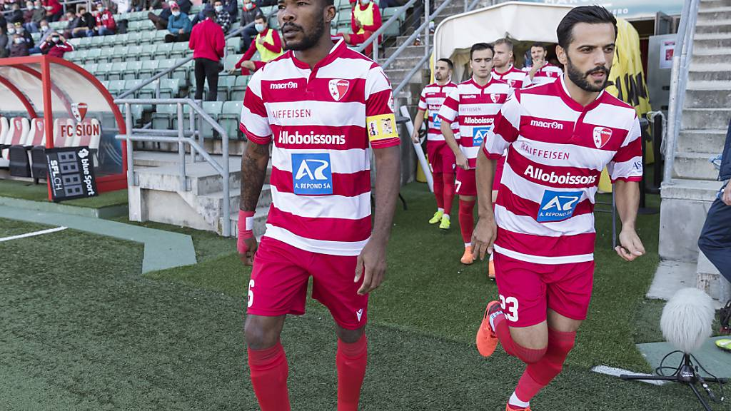 Im Moment ausser Gefecht: die Spieler des FC Sion