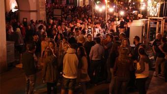 Gut besuchtes Metschgplatsch-Festival (Foto). Derweil blieb der Publikumserfolg in der Reithalle aus. Markus Christen