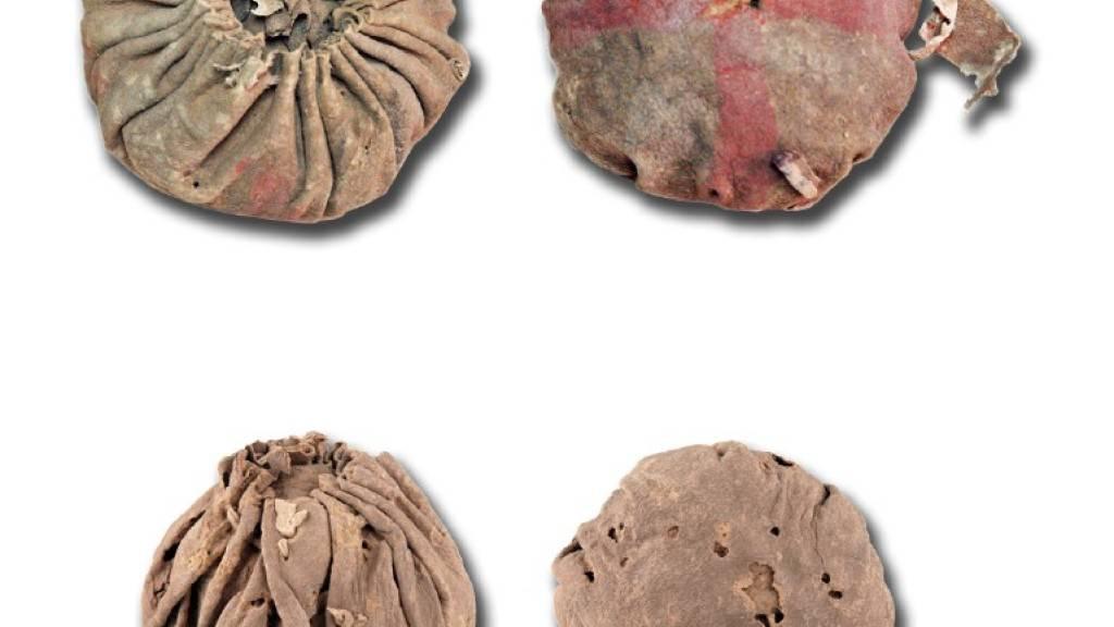 Archäologen finden die ältesten Bälle Eurasiens