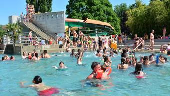 Die Badi Olten ist ab den kommenden Samstag wieder geöffnet.