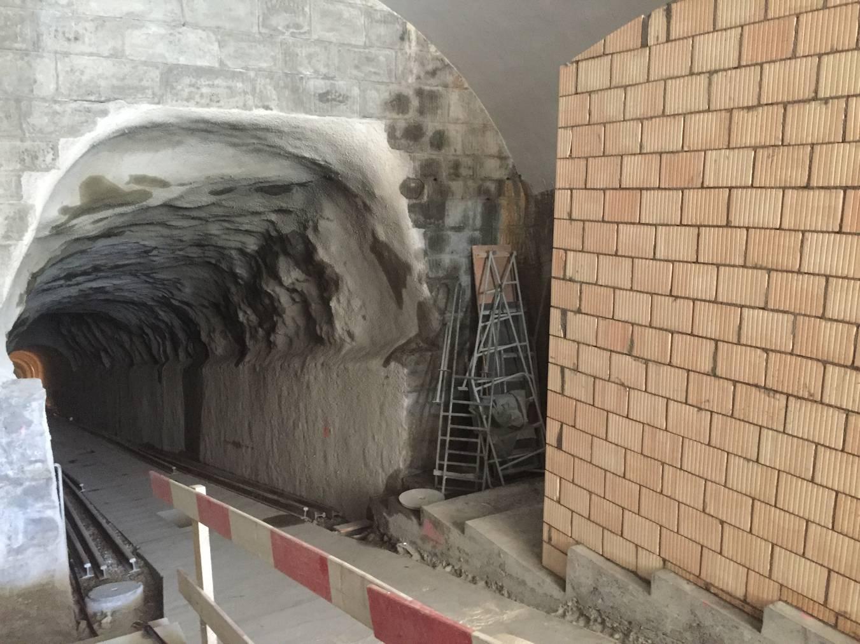 Bei der Bergstation wird ein neuer Technikraum eingebaut. (Bild: Angela Müller/FM1Today)