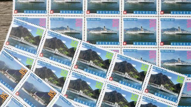 Die Einbrecher liessen auch Briefmarken mitgehen (Symbolbild)