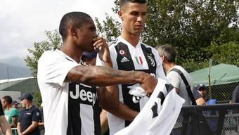 Juventus Turin und Cristiano Ronaldo können in den nächsten Wochen nicht auf Douglas Costa zählen