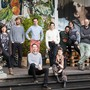 Das Science + Fiction-Team vor dem Sommercasino, dessen Räumlichkeiten sie vor zwei Jahren bezogen haben.