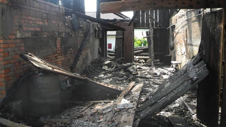 Am Pfingsmontag kam es in Lüterkofen zu einem Grossbrand.
