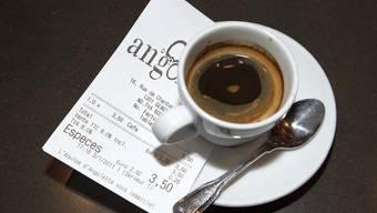 Sinkende Preise machen den Kaffee nicht günstiger