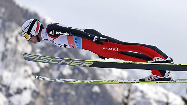 Ammann führt das Schweizer Team in den Final.