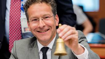 Optimistisch: Eurogruppen-Chef Jeroen Dijsselbloem.