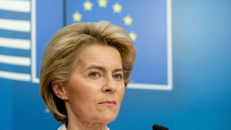 Konnte in ihrem Antrittsjahr an der EU-Kommissionsspitze nicht überzeugen: Ursula von der Leyen.
