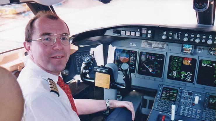 Hier war Beat Broder noch als Pilot bei der Rega tätig.
