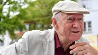 Fasziniert von Zeiträumen und der Expressivität althochdeutscher Ausdrücke: Der 74-jährige Franz Hohler.