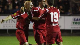 Jubel beim FC Winterthur