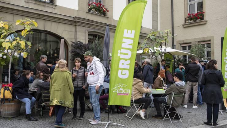 Die Grüne Partei ist bei den Wahlen am Sonntag zur viertstärksten Kraft im Nationalrat aufgestiegen.