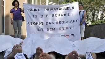 Sitz in Basel: Sicherheitsfirma Aegis (Archiv)