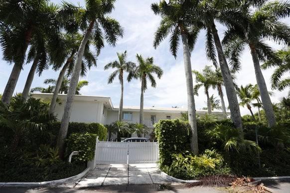Epsteins Anwesen in Florida.