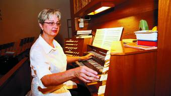 Innige Beziehung: Das Spiel auf der Orgel ist für Danielle Käser eine Herzensangelegenheit. (Bild: Hanspeter Bärtschi)