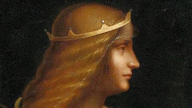 Das Porträt der Adligen Isabella D'Este.