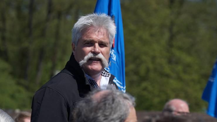 AFV-Präsident Hans Aemisegger.