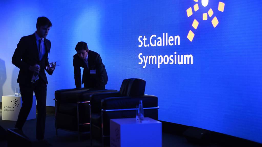 Das St. Gallen Symposium findet vom 5. bis 7. Mai zum 50. Mal statt. Kernthema ist «True Matters». (Archvbild)