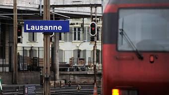 Im Bahnhof Lausanne brannte eine Lok (Symbolbild)