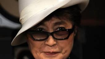 Yoko Ono, John Lennons Witwe (Archiv)