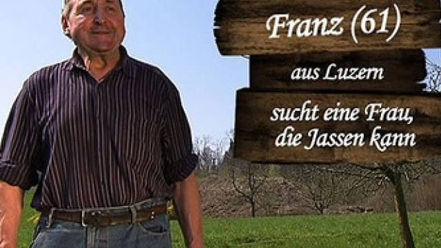 So suchte Franz Wyss seine grosse Liebe (Printscreen 3+)
