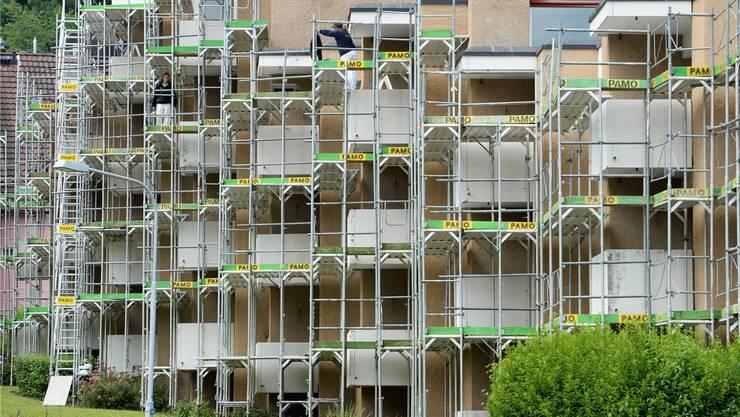 Kampf um Mieter wird härter: Besitzer müssen mehr investieren in den Umbau und die Renovation ihrer Wohnungen.