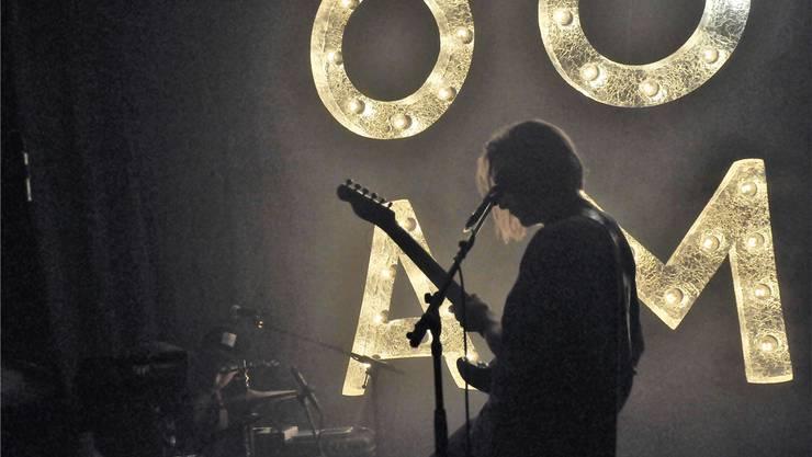 Die englische Band «Chelou» sorgte in der Stanzerei für mystisch-melancholische Stimmung.