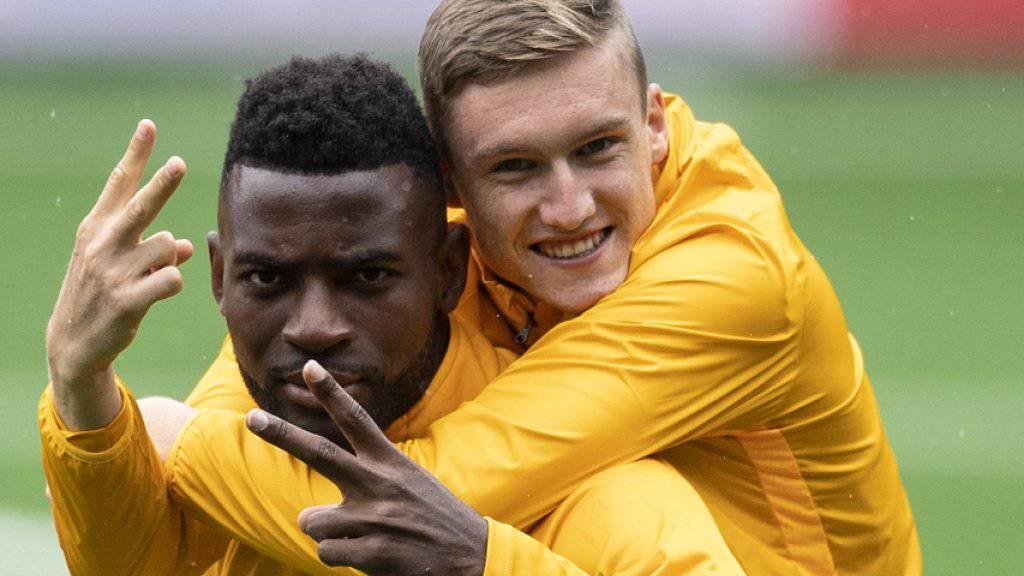 Die Stimmung bei den Young Boys ist gut vor dem Playoff-Hinspiel gegen Roter Stern Belgrad