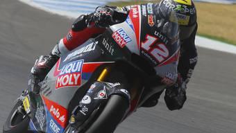 Tom Lüthi reihte sich im Qualifying zum GP von Österreich in den Top 10 ein