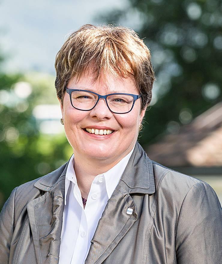Marianne Wildi ist CEO der Hypothekarbank Lenzburg